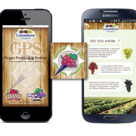 Columbine Vineyards GPS Application