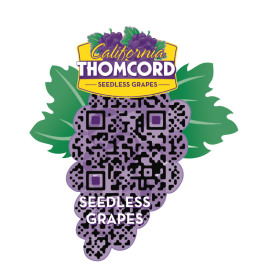 Farmers Fresh Fruit Thomcords Custom QR Code