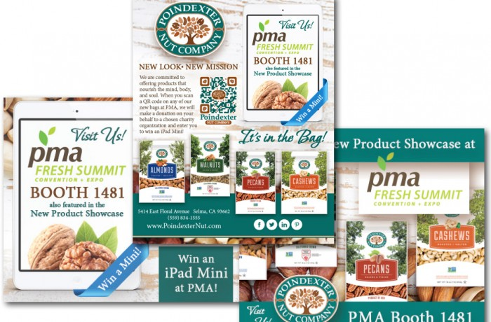 Poindexter Nut Company Trade Show Promotion