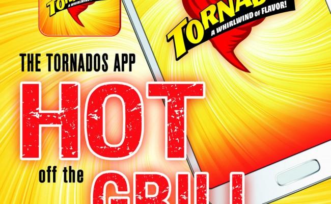4- Tornados Postcard -FRONT