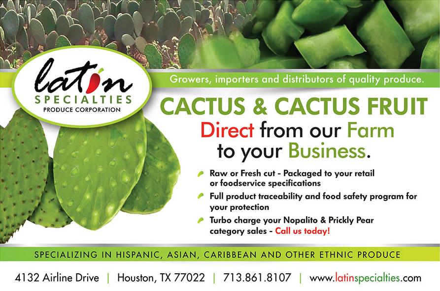 Latin Specialties – Cactus