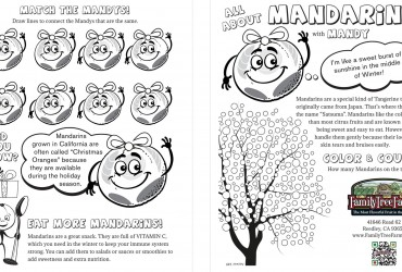 Match The Mandy's Kids Activity Pages