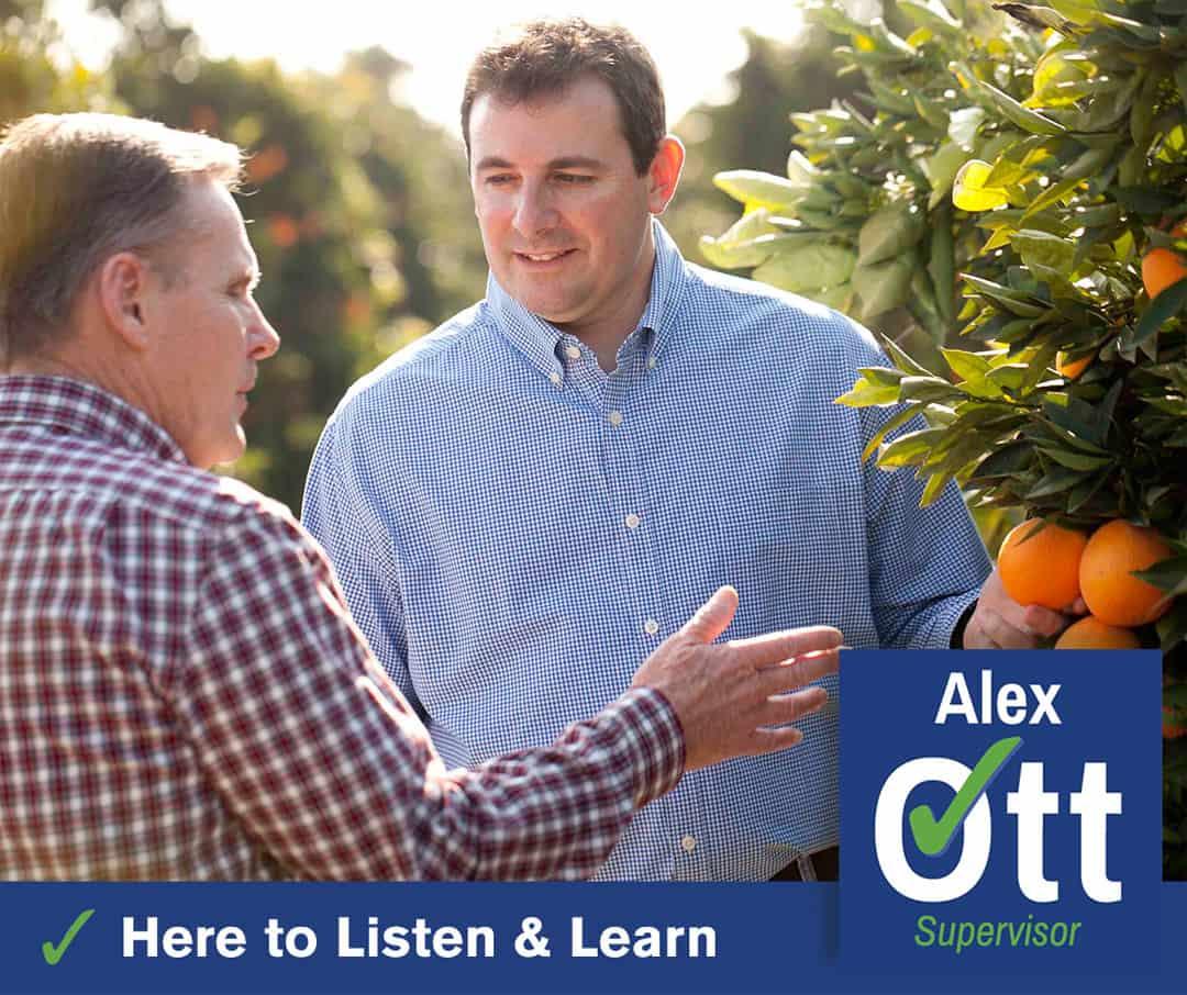 Alex Ott for Supervisor